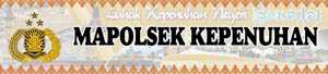 Banner Mapolsek Kepenuhan