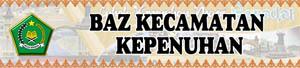 Banner BAZ Kecamatan Kepenuhan