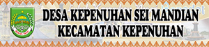Banner Desa Kepenuhan Sei Mandian