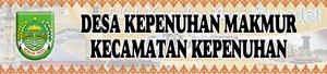Banner Desa Kepenuhan Makmur