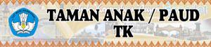 Banner TK Taman Anak Paud