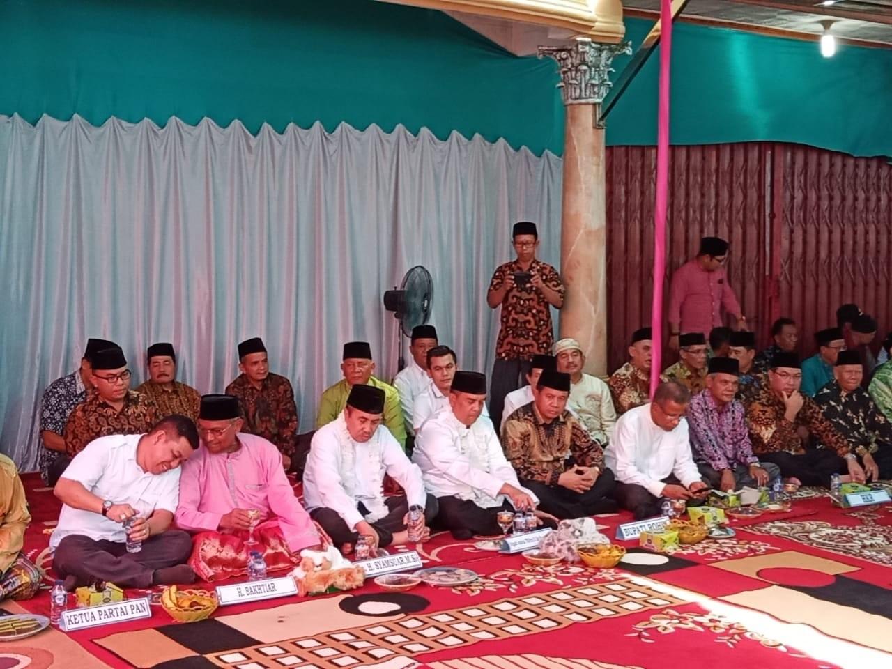 Hadiri Syukuran Masyarakat Rohul, Gubernur dan Wagub Riau Terpilih Komit Peningkatan Infrastruktur,