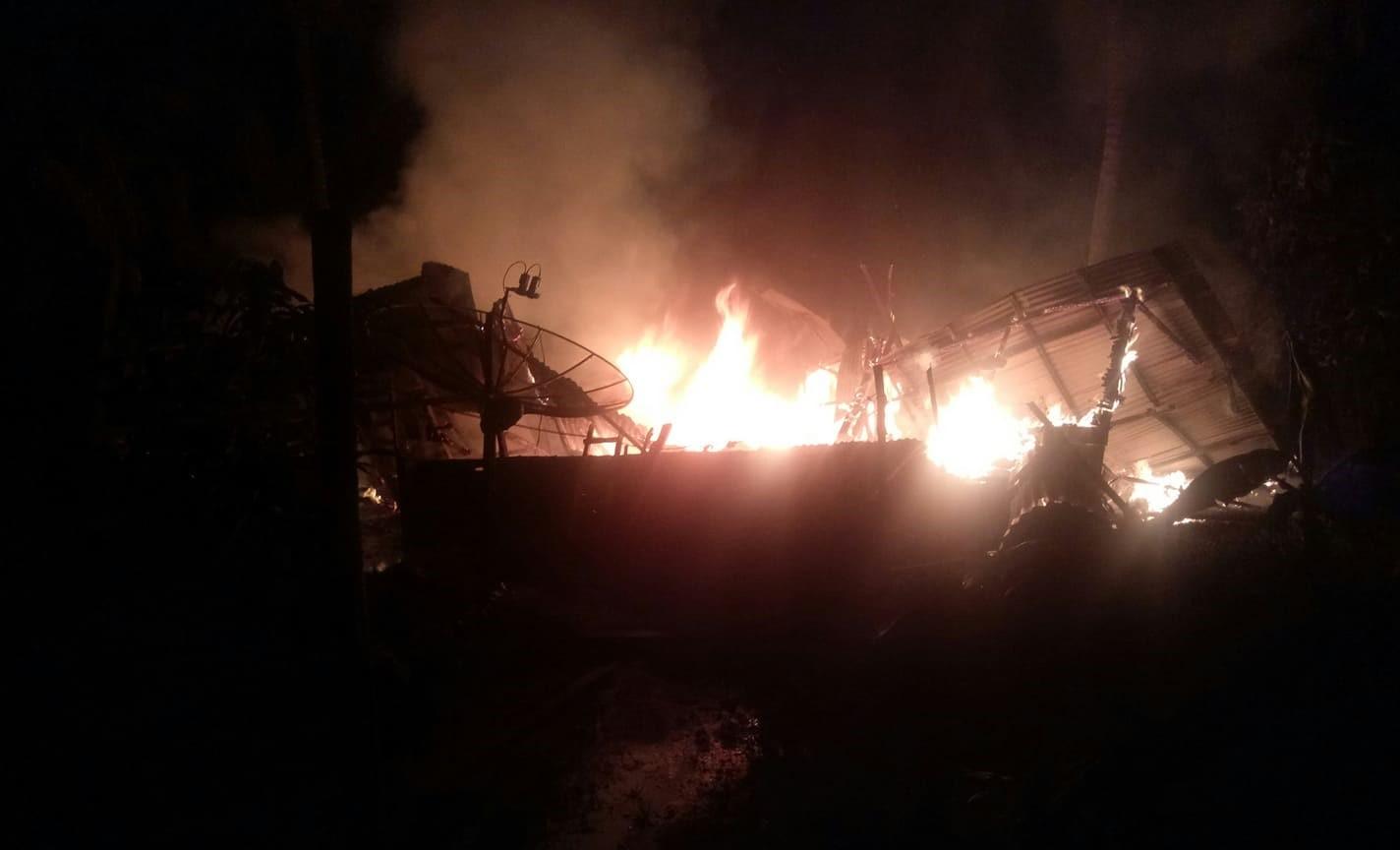 Kebakaran Rumah Milik ASMIAR ( 48 tahun )