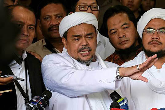 2 Alasan Polisi Terbitkan SP3 untuk Rizieq Syihab