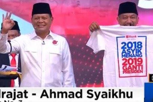 Bawaslu Jabar akan Panggil KPU Terkait Kaos 2019 Ganti Presiden