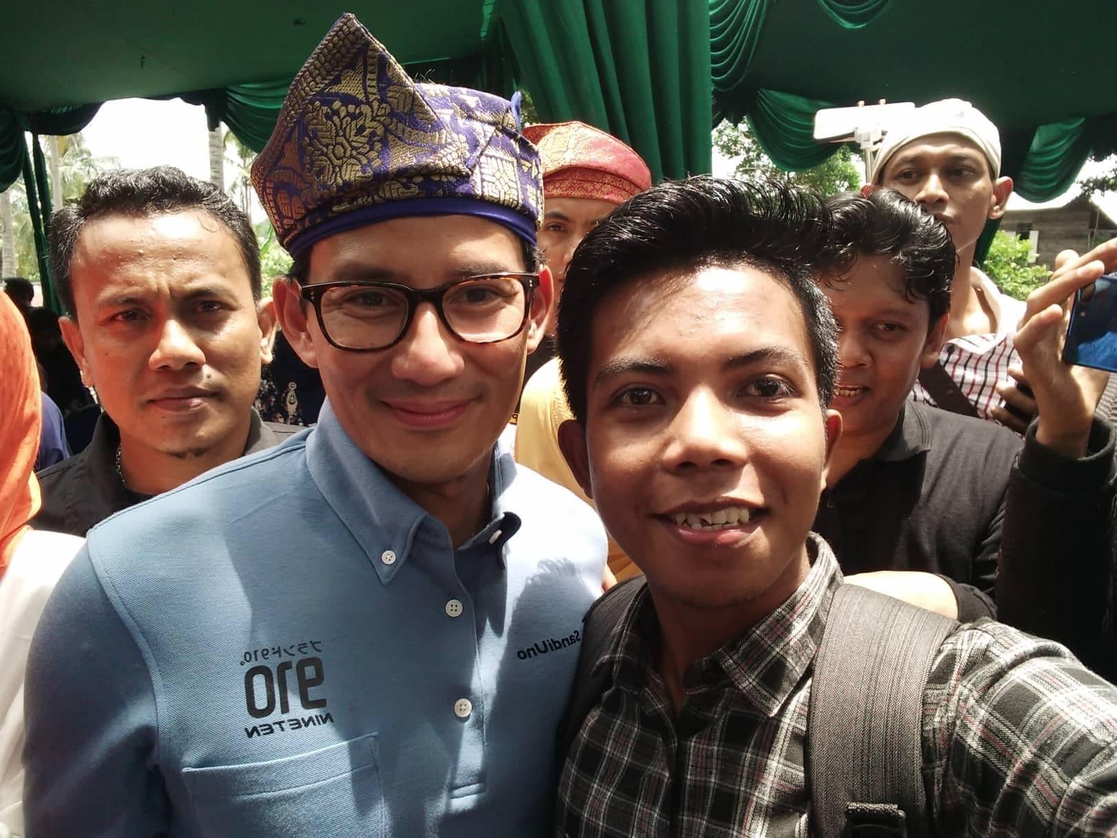 Prestasi anak negeri bojumpo dengan Calon Wakil Presiden RI