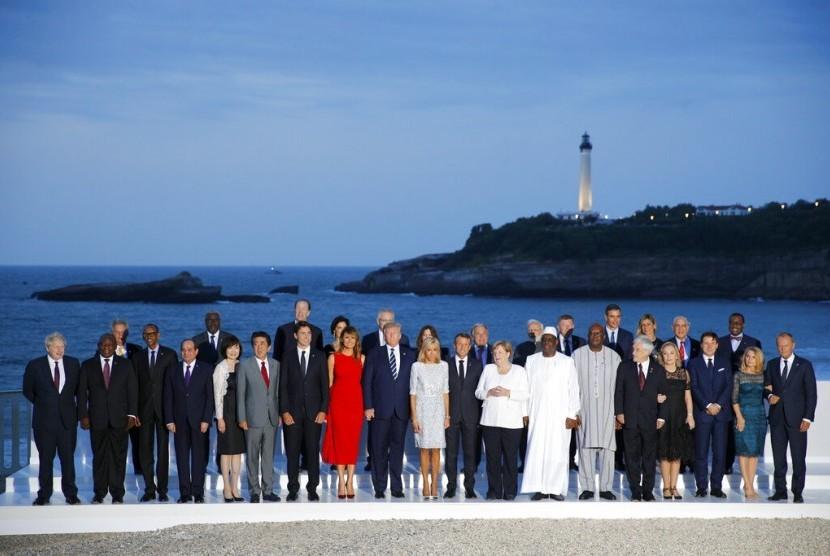 Pertemuan G-7 Berjalan Sulit