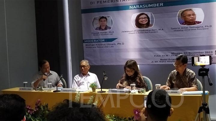 Survei LSI: Pancasila Diterima Mayoritas Muslim Indonesia