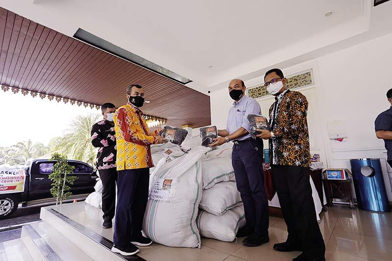 RAPP Sudah Bagikan 400 Ribu Masker Melalui Pemprov Pekanbaru