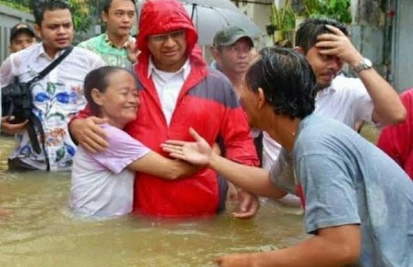 Membandingkan Anies, Ahok, dan Jokowi Soal Banjir DKI