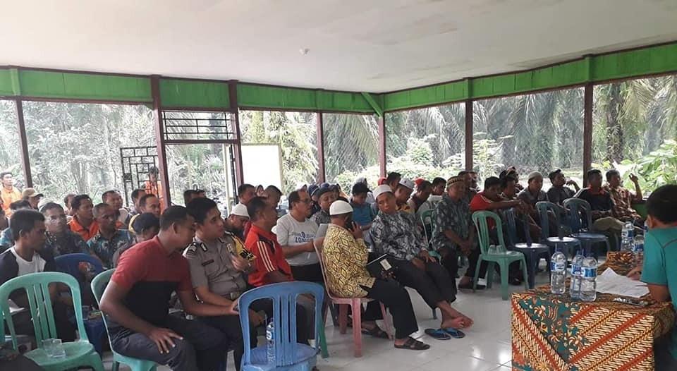 Rapat Persiapan MTQ TK. Kecamatan di Desa Kepenuhan Barat