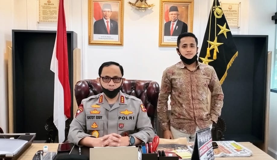 Bersama Wakapolri;Komjen. Pol. Dr. Drs. Gatot Eddy Pramono, M.Si.