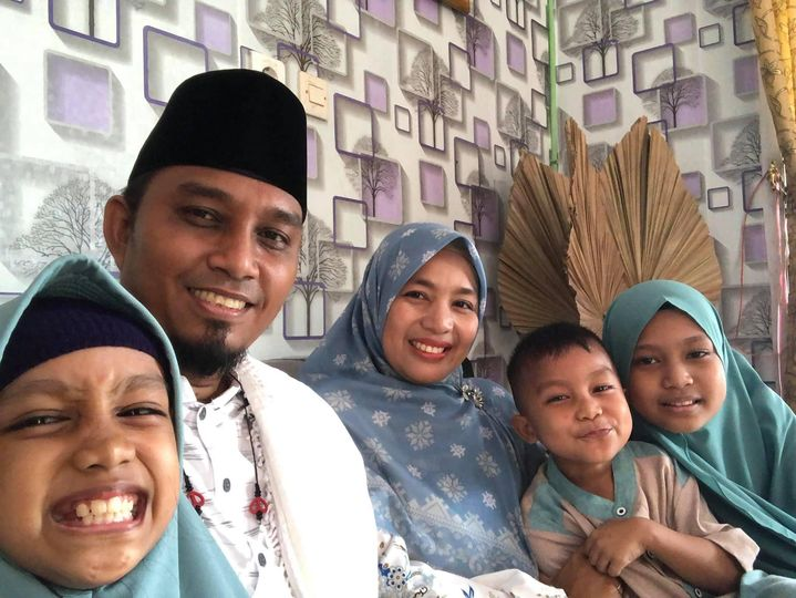 Keluarga Besar Kades Kepenuhan Hulu