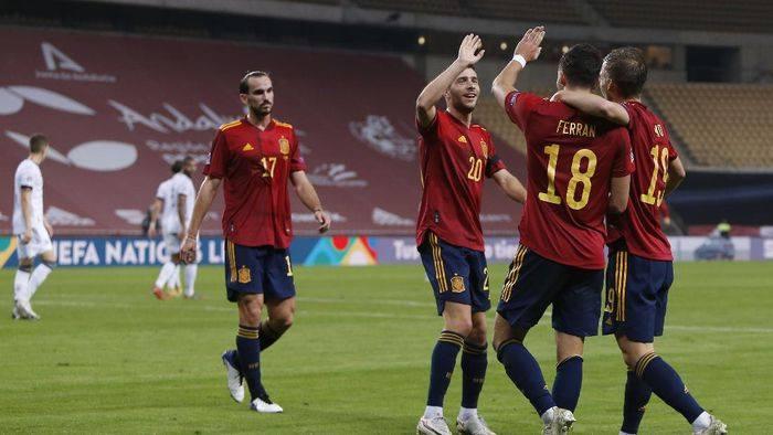 Spanyol Hajar Jerman 6-0 dan Pijak Semifinal UEFA Nations League