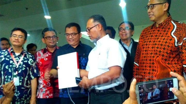 BPN Prabowo Adukan Dugaan Pelanggaran UU Pemilu oleh Ma\