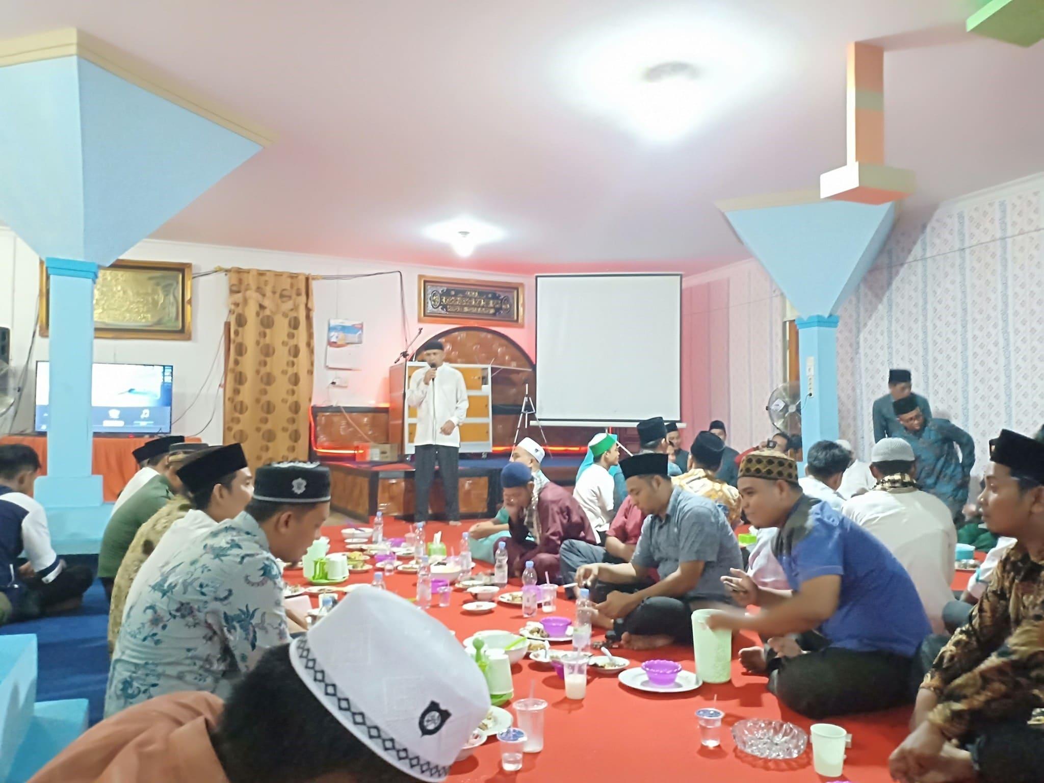 Bukber penyelenggara pemilu se Kecamatan Kepenuhan