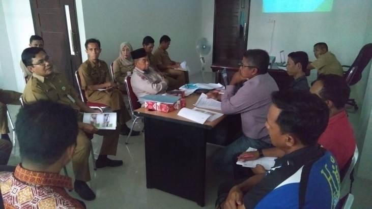 Dugaan Pencemaran Lingkungan, DLH Rohul Kembali Mediasi PT. Era Sawita dengan Ponpes Nizamuddin Kepe