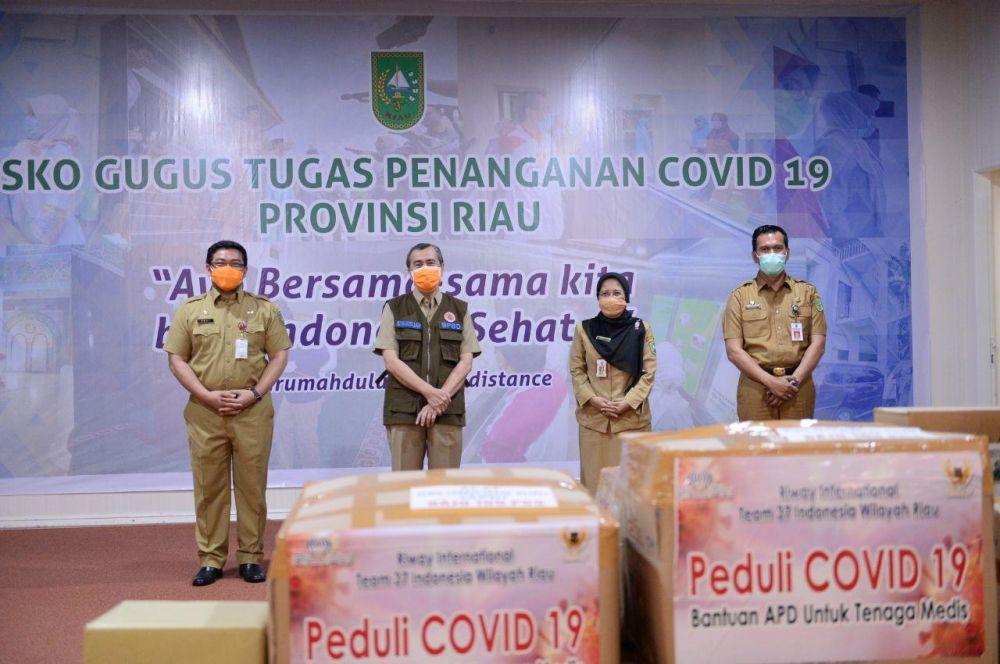 Bantuan Covid-19 Dilarang untuk Kepentingan Politik