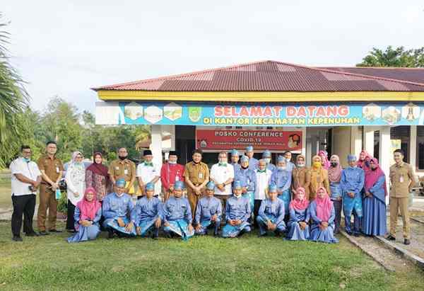 Tim Penilai EKK Tingkat Provinsi Riau Lakukan Penilaian di Kecamatan Kepenuhan