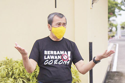 Gubernur Syamsuar Adukan Pendemo ke Polda RIAU