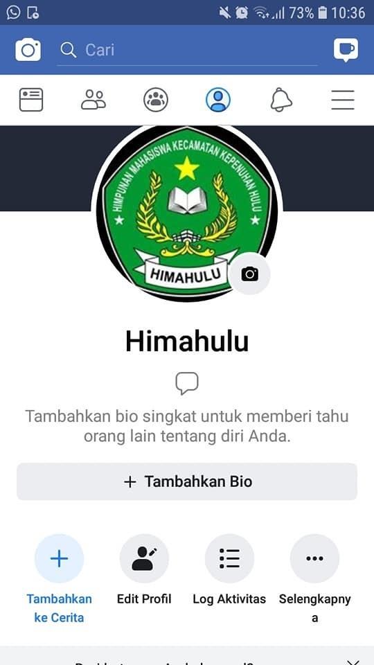 Jejaringan sosial Himpunan Mahasiswa Kecamatan Kepenuhan Hul