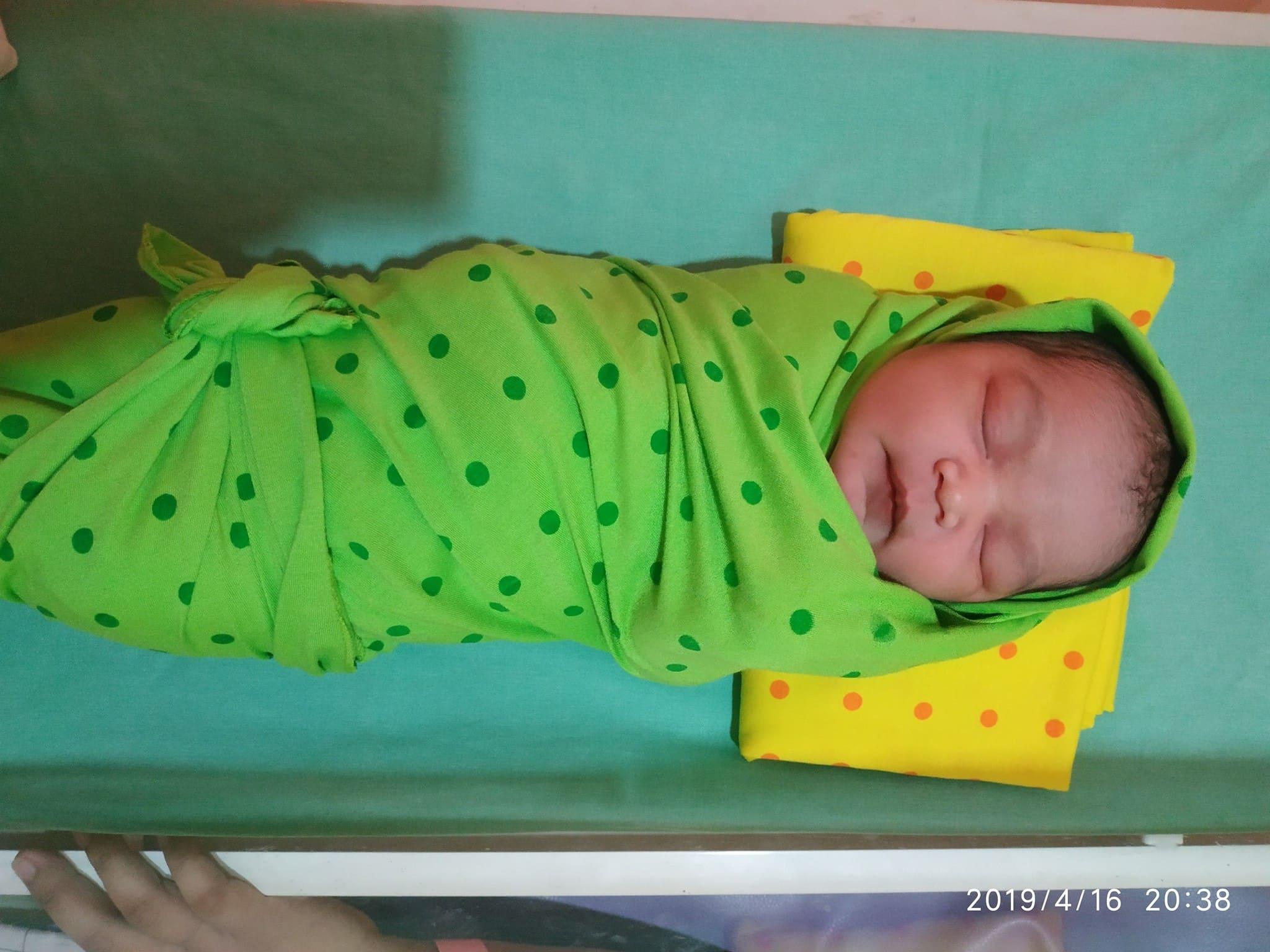 Alhamdulillah telah lahir putri pertama kami