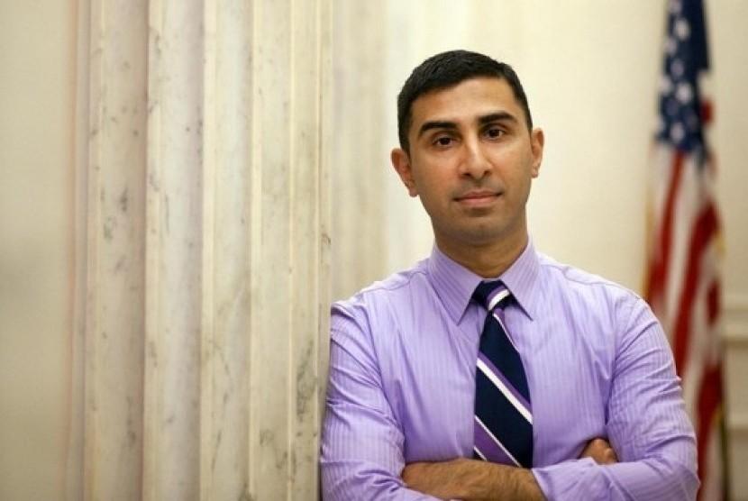 Pertama Kali, Senator AS Tunjuk Muslim Jadi Ketua Kampanye