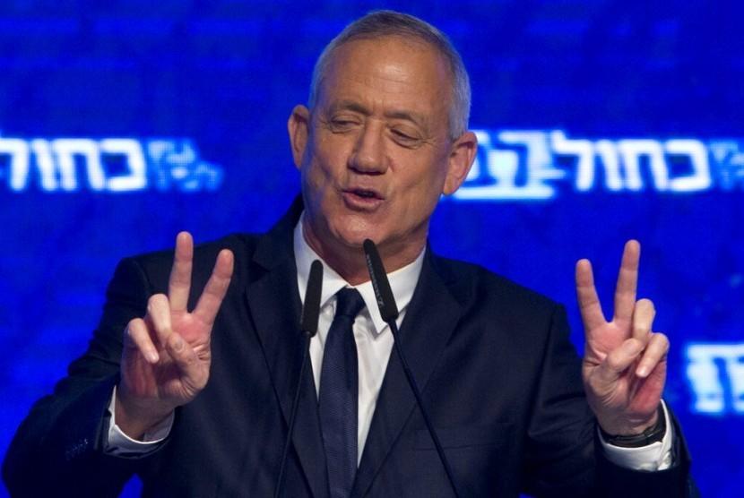 Klaim Menangkan Pemilu Israel, Gantz: Ini Hari Bersejarah