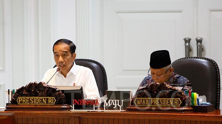 Kumpulkan Koalisi, Jokowi Tanya Progres Omnibus Law di DPR