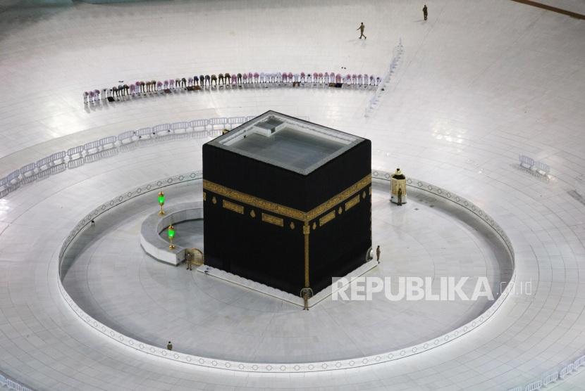 Suasana Lengang Masjid Haram pada Awal Ramadhan
