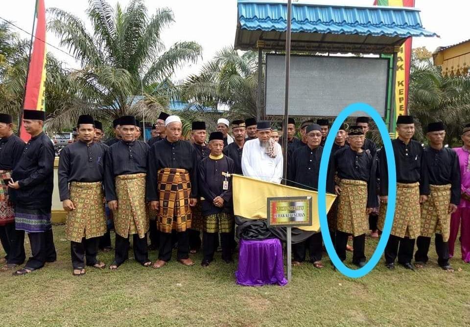 H. Baharudin mamak ajo sutindo inuk suku Melayu Luhak kepenuhan negeri BERADAT.