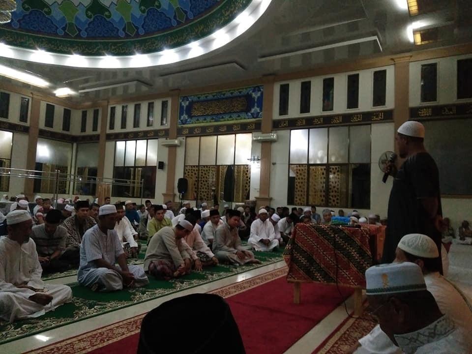 Pejuang Subuh.. Gerakan shalat subuh berjamaah di kecamatan Kepenuhan Kab Rokan Hulu.