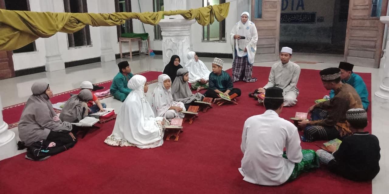 Pertemuan pertama kelas tahpidz di masjid baiturrahman USAU