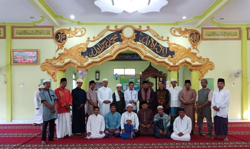 Perdana GSSB Desa Kepenuhan Timur di Masjid Darul Islam.