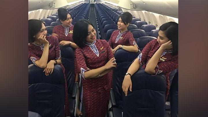 Sosok Pramugari Lion Air JT 610 Alfiani Solikah Dikenal Cerdas