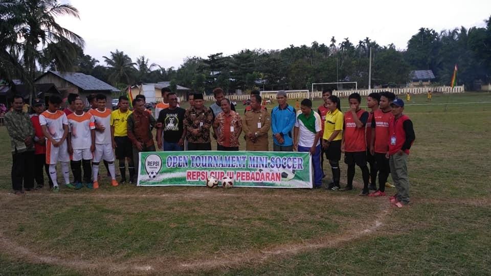 Pembukaan Open turnamen Mini soccer REPSI cup III