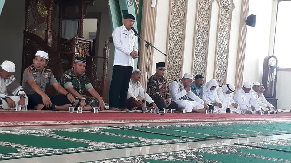 Selamat datang Jamaah Haji Luak Kepenuhan Negeri BERADAT