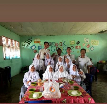 SMAN 1 Kepenuhan Taja Praktik Kuliner Khas Melayu Riau