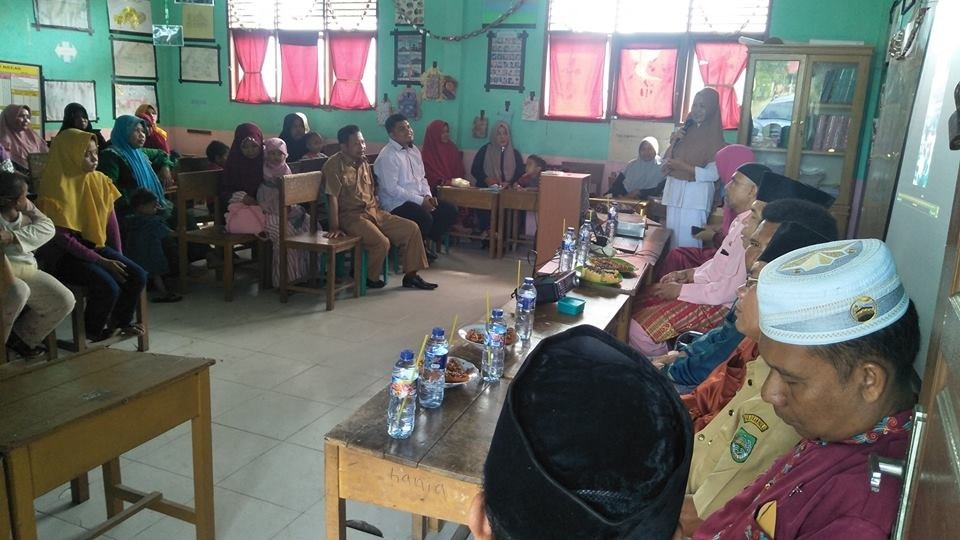 Sosialisasi Suntik Rubella di SD Islam Mawaddah Kepenuhan,