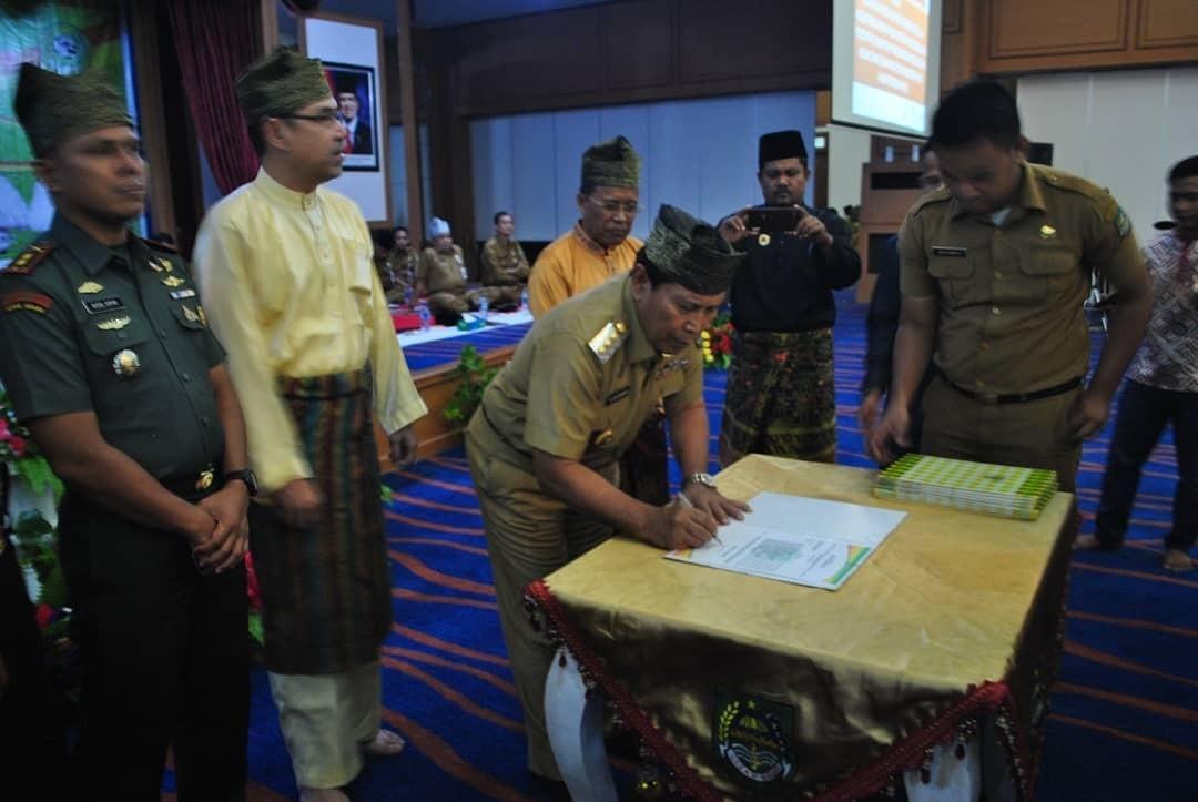 Pusat Pengembangan Seni Budaya Melayu dan paguyuban/Kekerabatan di Kabupaten Rokan Hulu