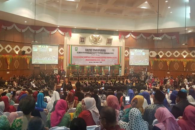 Sah! 65 Anggota DPRD Riau Terpilih Dilantik