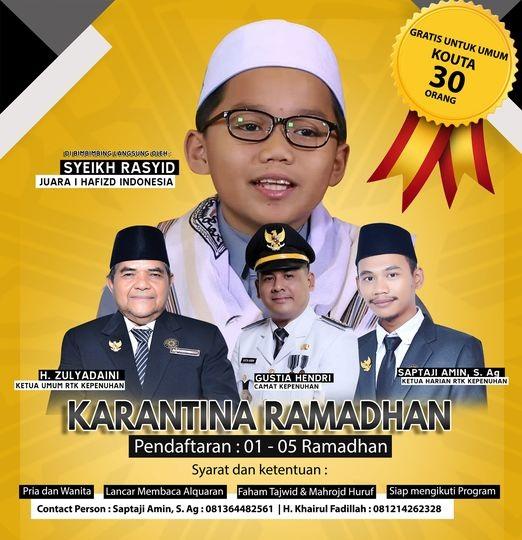 Special Karantina Ramadhan