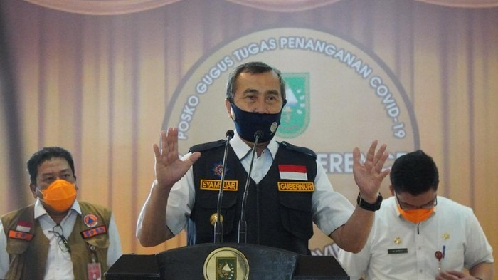 Gubernur Riau Keluarkan Instruksi PSBK