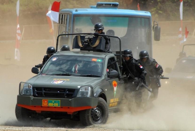 TNI Kesulitan Capai Lokasi Pembantaian 31 Pekerja di Nduga
