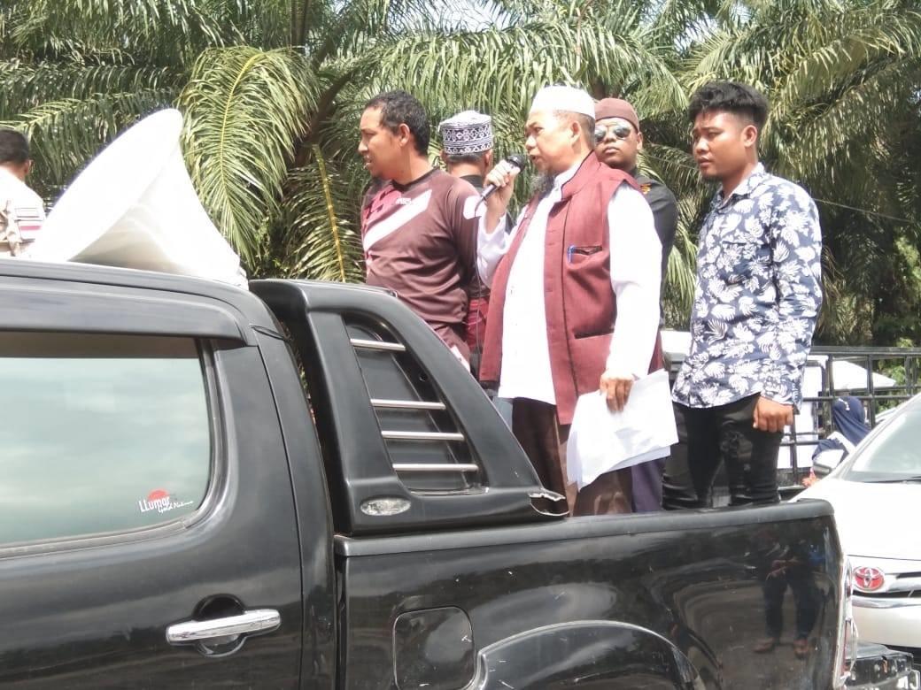 Koalisi Jaringan Organisasi Masyarakat Kabupaten Rokan hulu Desak Bupati Sukiman Proses PT. Era Sawi